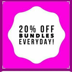 Other - 20% off bundles